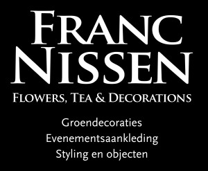 Franc Nissen flowers, tea and decorations